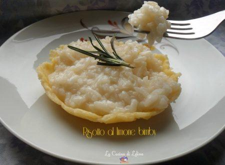Risotto al limone ricetta bimby
