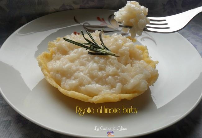 Risotto al limone ricetta bimby|La Cucina di Lelina