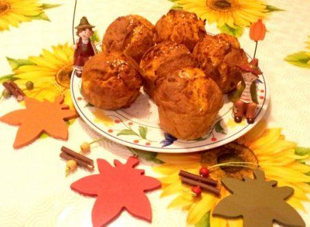 Muffin alla zucca ricetta salata