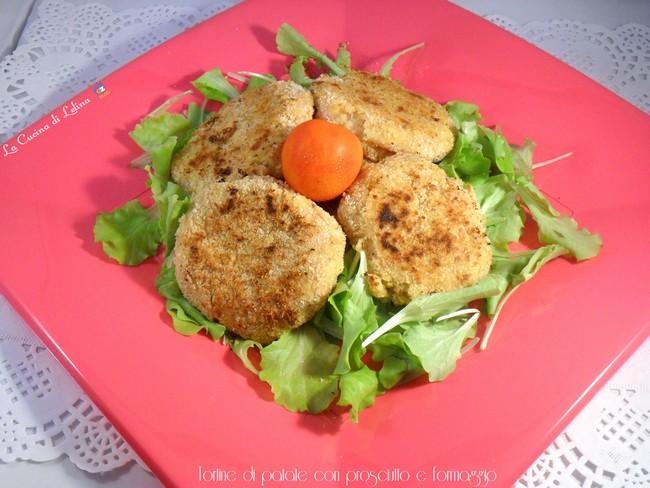 Tortine di patate con prosciutto e formaggio|La Cucina di Lelina