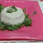 Ricotta homemade ricetta vegana