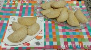 Biscotti integrali ripieni senza zucchero e burro La Cucina di Lelina