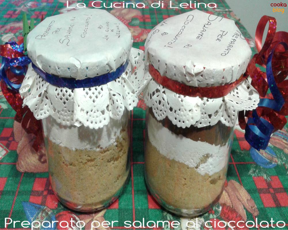 Preparato per salame al cioccolato|La Cucina di Lelina