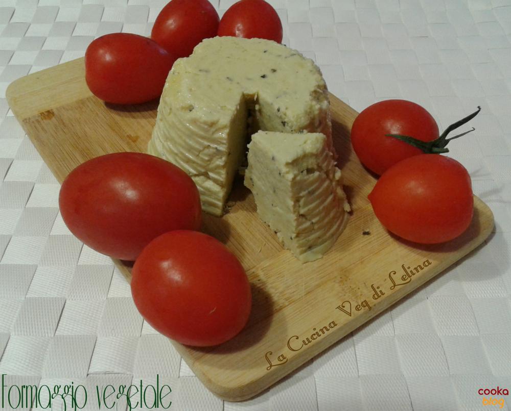 Formaggio con farina di piselli ricetta veg|La Cucina di Lelina
