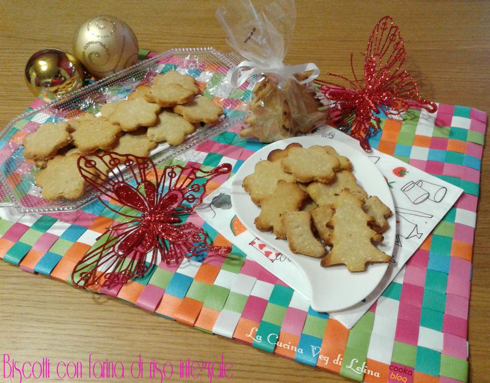 Biscotti con farina di riso integrale|La Cucina di Lelina