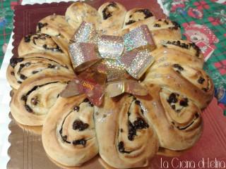 Ghirlanda al cioccolato|La Cucina di Lelina