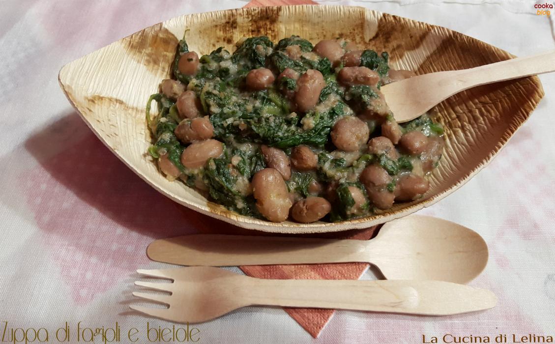 Zuppa di fagioli e bietole|La Cucina di Lelina