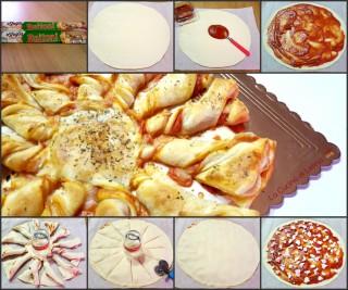 Fiore di sfoglia al gusto pizza|La Cucina di Lelina