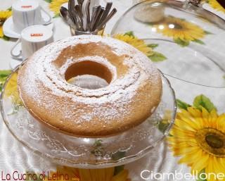 Ciambellone di Nonna Lina|La Cucina di Lelina