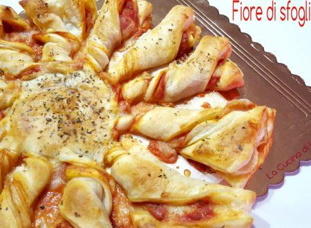 Fiore di sfoglia al gusto pizza