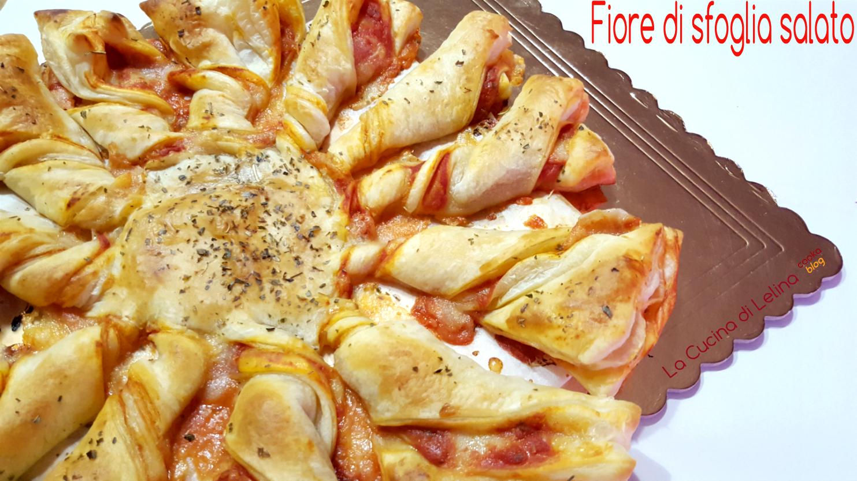 Amato Fiore di sfoglia al gusto pizza | La Cucina di Lelina WP99