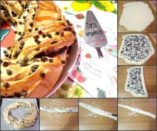 Torta angelica yogurt e gocce di cioccolato|La Cucina di Lelina