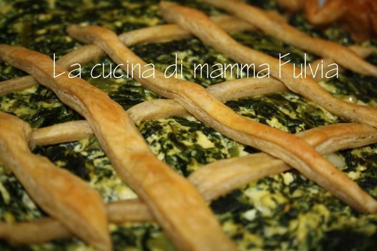 Crostata integrale con bietole e ricotta torta salata for Cucinare bietole