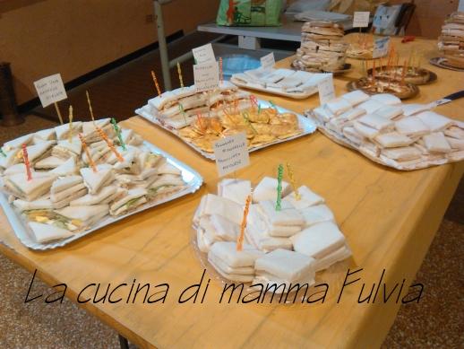 Buffet di compleanno la cucina di mamma fulvia