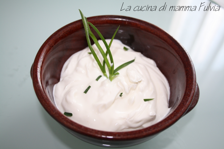 Panna acida - sour cream