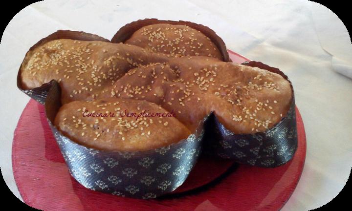 colomba salata di pan brioche