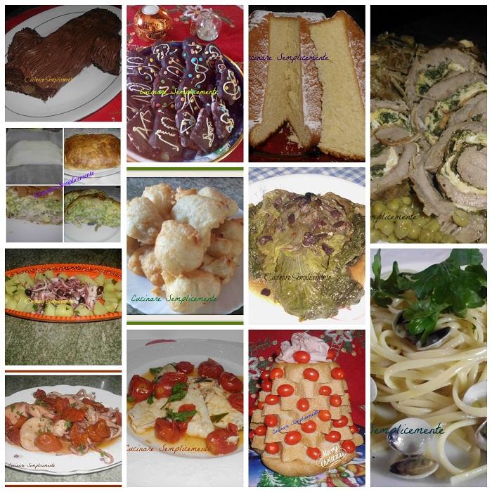 I menu' delle feste