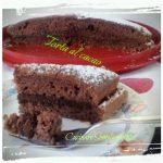 Torta morbida al cacao farcita alla nutella