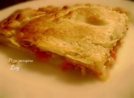 """La pizza """"Parigina"""""""