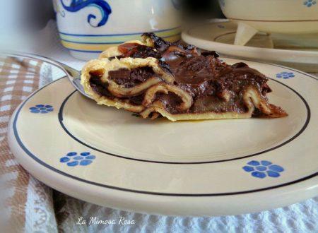 Torta veloce cioccolato e pere
