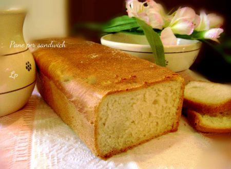 Pane per sandwich con idee annesse