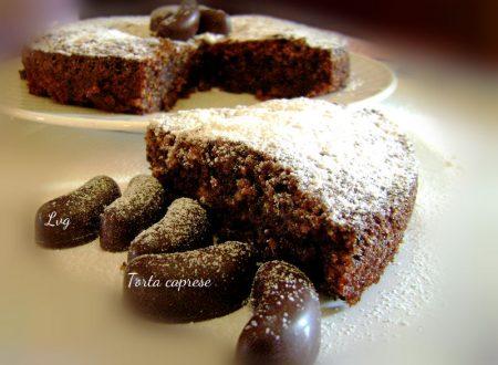 Torta caprese, dolce tipico napoletano
