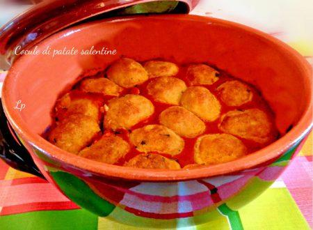 Cocule di patate, ricetta salentina