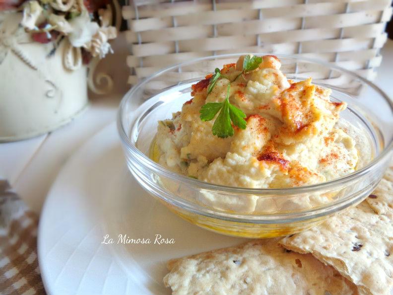Hummus di ceci ricetta