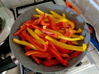 Peperoni in padella 1