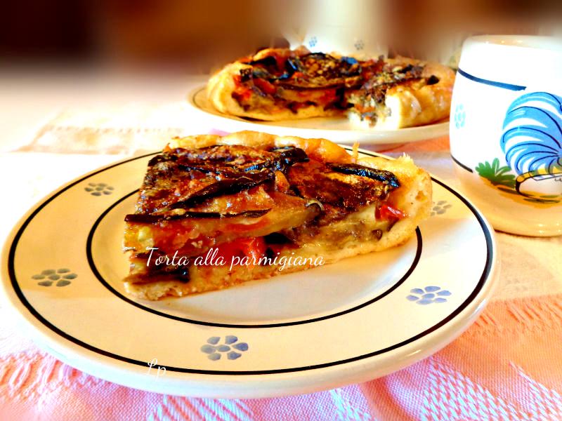 Torta alla parmigiana di melanzane