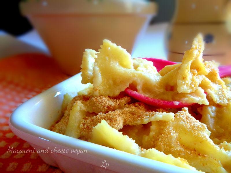 Macaroni and cheese vegan