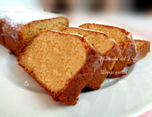 Plumcake senza grassi, del 2