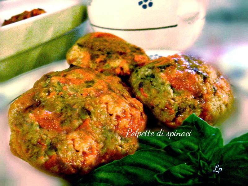 Polpette di spinaci e ricotta, deliziose