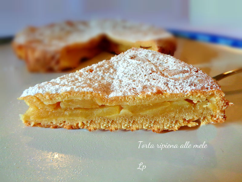 Amato Torta ripiena alle mele, con morbida e profumata pastafrolla NT63