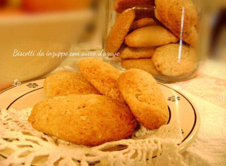 Biscotti da inzuppo, con succo d'agave