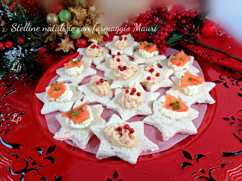 Ben noto Antipasto di Natale,stelline al formaggio tonno e salmone | La  RZ63