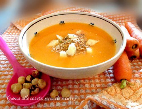 Crema alle carote, nocciole e curry