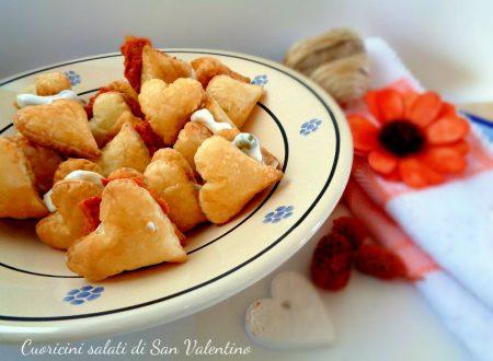 Cuoricini salati di San Valentino
