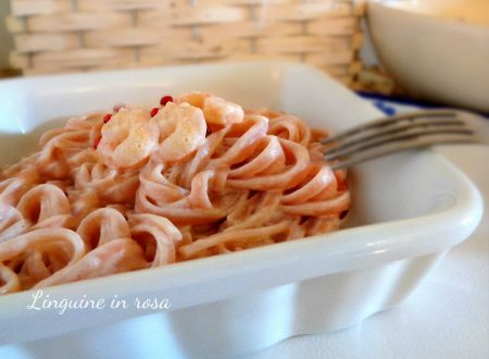 Linguine in rosa