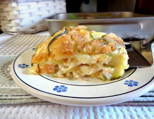 Tortino di zucchine e patate al forno