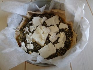 Torta salata con bietola 5