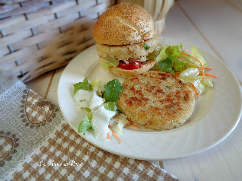 Fish burger ricetta