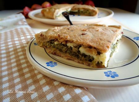 Torta salata con bietole e primo sale