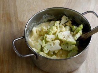 Torta salata con cavolfiore 4
