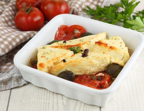 Feta greca al forno