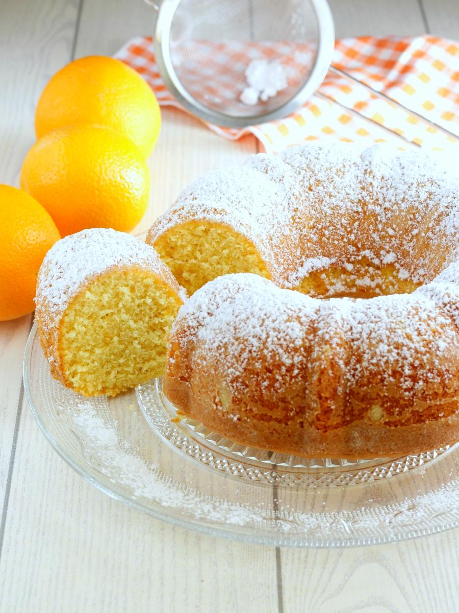 Torta all'arancia ricetta.