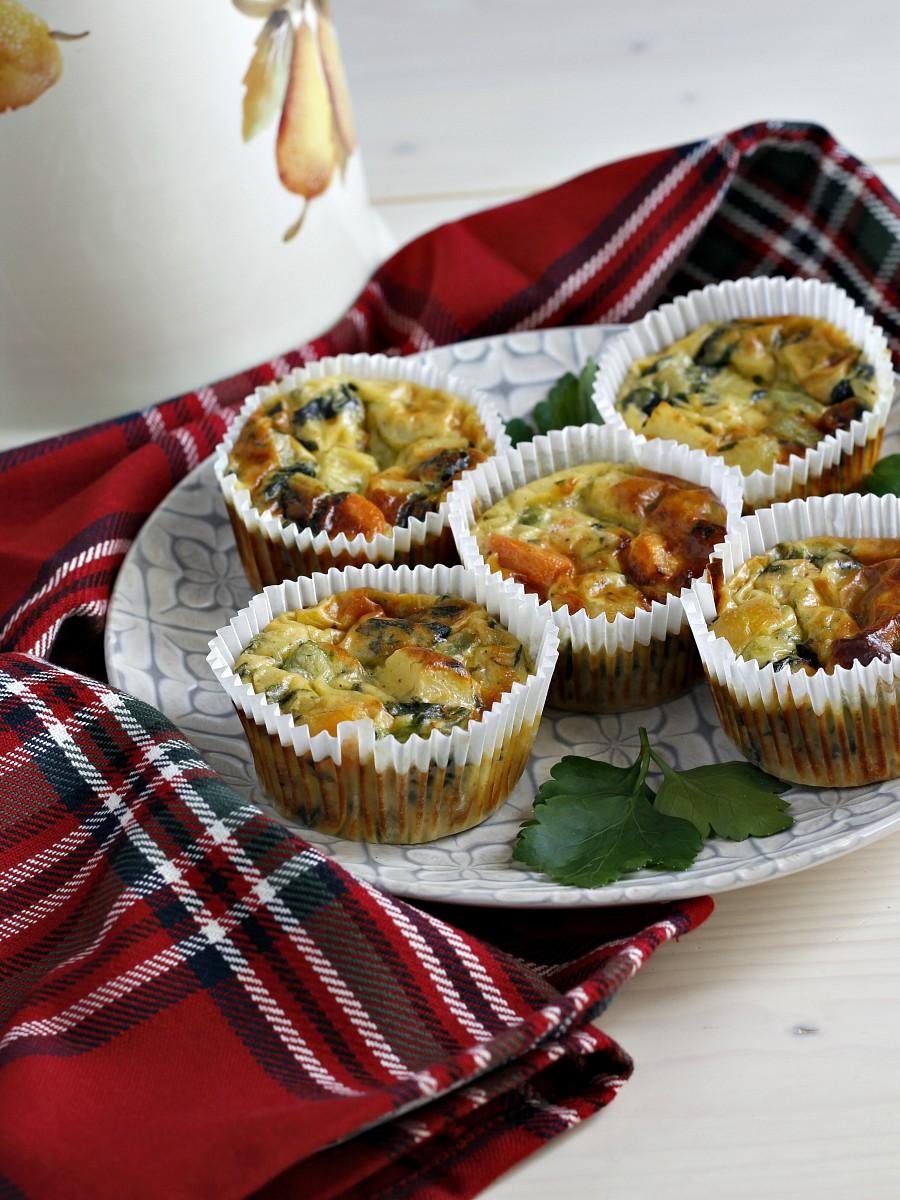 Antipasti Di Verdure Natale.Sformatini Di Verdure Surgelate Facili Veloci Gustosi Finger Food