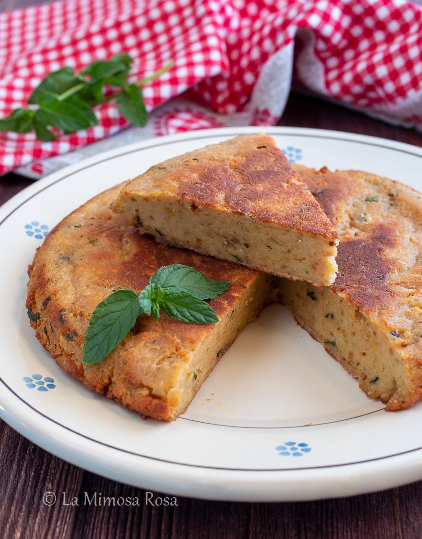 Frittata di pane e menta ricetta