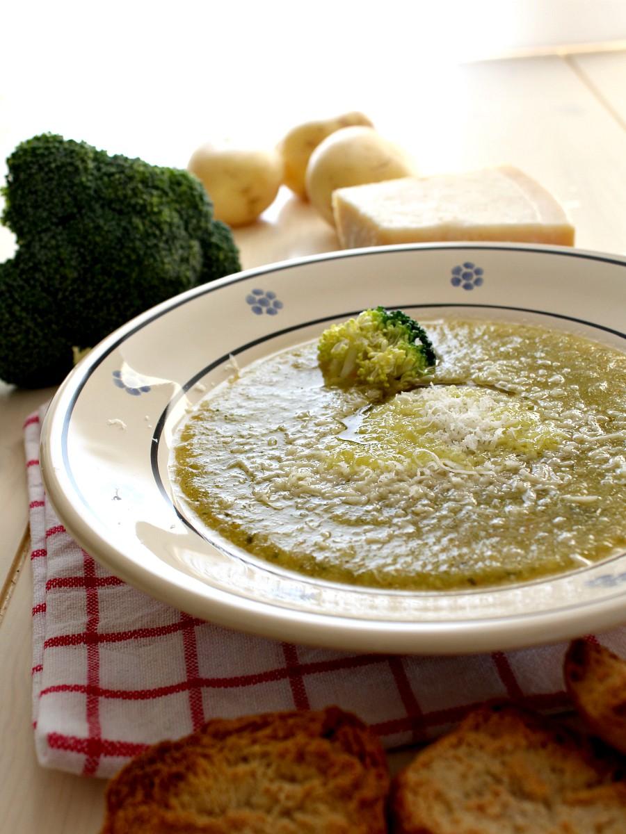 Crema di broccoli e patate ricetta