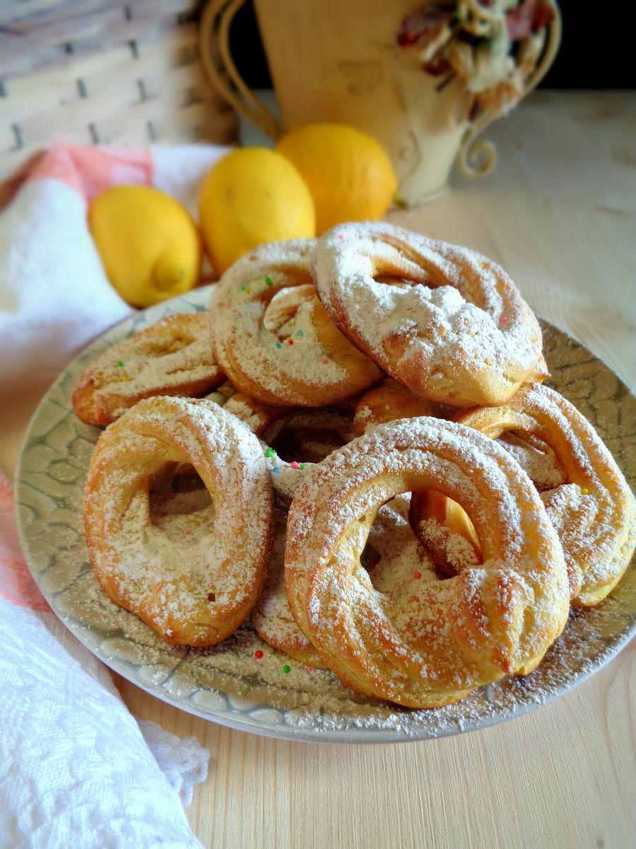 Ciambelline al forno ricetta